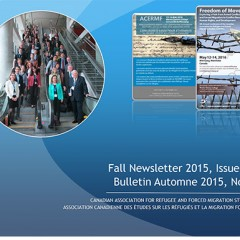 CARFMS/ACERMF Newsletter, Fall 2015, Issue 6, is now available